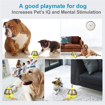 Interactive Cat Toy IQ Treat Ball Smarter   3
