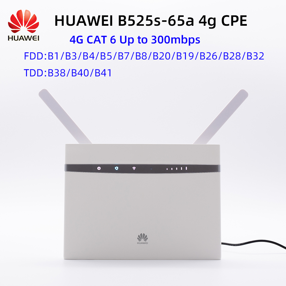 Unlocked NEW Original Huawei B525S 65a 4G LTE CPE router PK b618s b715s b535s|3G/4G Routers| - AliExpress