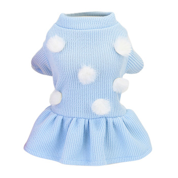 Female Dog Dresses Dot Pattern Summer Dog Clothes Princess Girl Skirt Korean Style Fashionable Sweater For Small Medium Dogs12 image