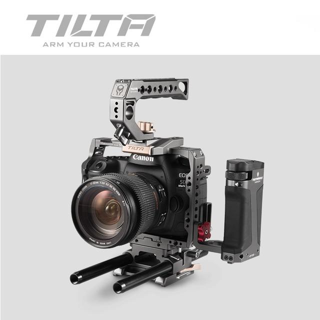 Tilta TA T47 A G Camera CAGE DSLR rig  FOR CANON 5D 7D 5D2 5D3 5D4 5D mark II 4D mark III side focus handle vs smallrig