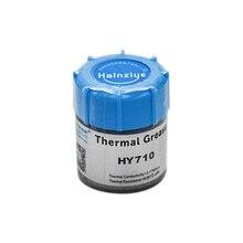 Серебристая термопаста HY710 10 г, силиконовая смазка, проводящая смазка для ЦПУ, GPU, состав для охлаждения, силикон