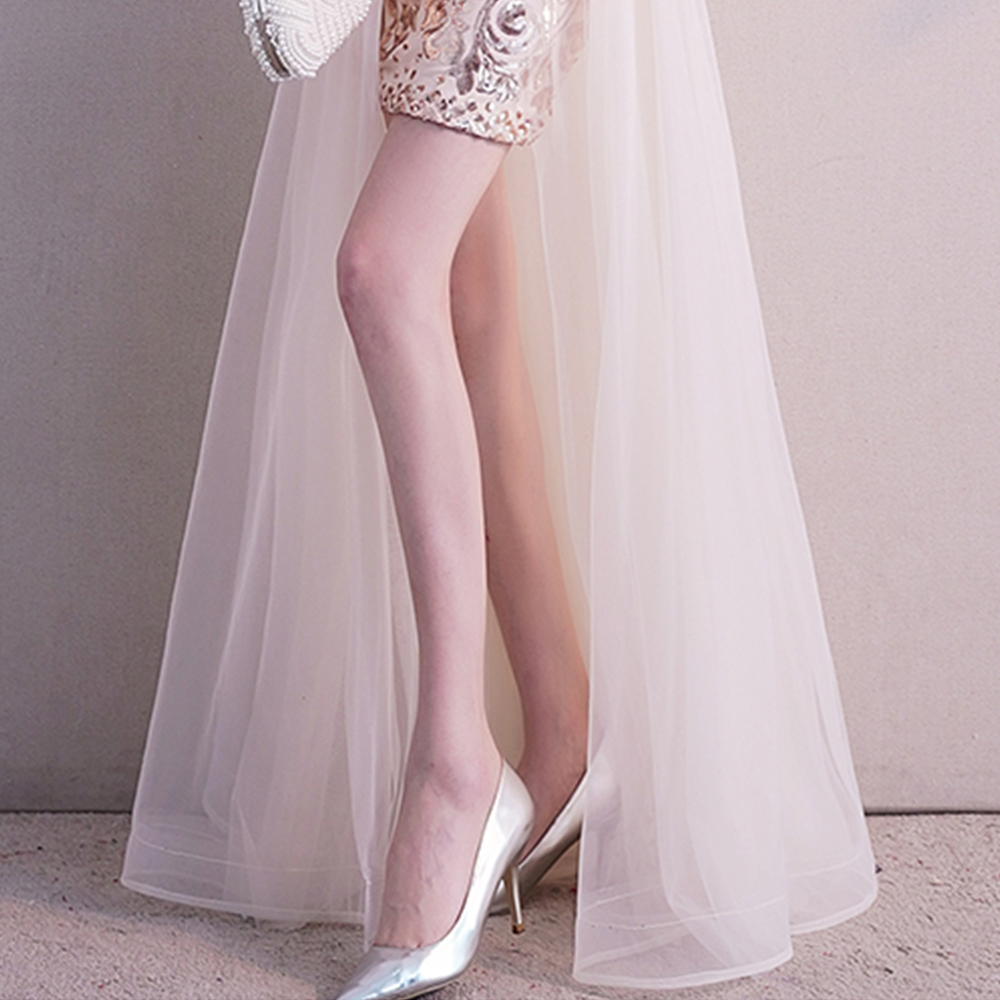 Evening Dress O neck Elegant Women Party Dresses Zipper Robe De Soiree 2019 Plus Size Sexy Sleeveless Sequin Formal Gowns F014 in Evening Dresses from Weddings Events