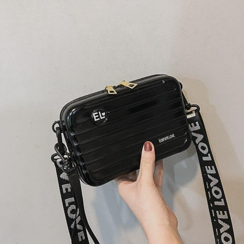 Luxury Hand Bags For Women 2020 New Suitcase Shape Totes Fashion Mini Luggage Bag Women Famous Brand Clutch Bag Mini Box Bag