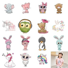 3D Festival Iron-On Transfers Heat Transfer Ironing Stickers Kids Clothing T-shirt Thermal Patches Washable Decal DIY Appliques prajna starry sky love letters iron on transfers for clothing diy heat transfer vynil thermal patches ironing stickers t shirt