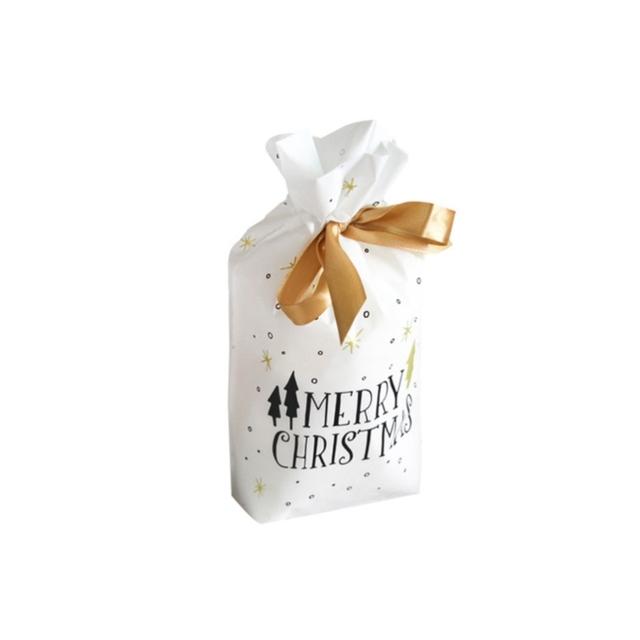 Christmas Gift Bags Wedding candy bag Presents Merry Christmas  Santa Claus Bag Xmas packing bag Decorations New Year Presents