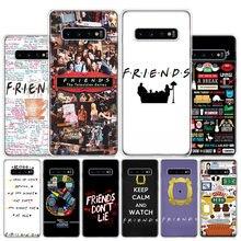 Melhores amigos juntos caixa do telefone para samsung galaxy s10 s20 ultra nota 10 9 8 s10e s9 s8 s7 borda j4 j6 j8 plus + capa coque