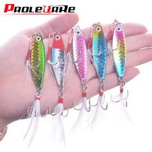 New 7g 10g 16g 20g Metal Cast Jig Spoon Shore Casting Jigging Lead Fish Sea Bass Fishing Lure Artificial Bait Winter Tackle