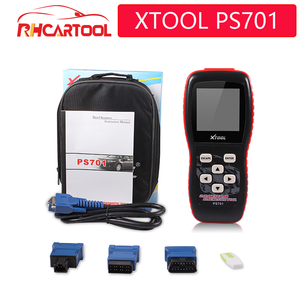 2019 New Recommend Original Xtool PS701 JP Diagnostic Tool PS 701 OBD2 Diagnostic for Japanese Cars