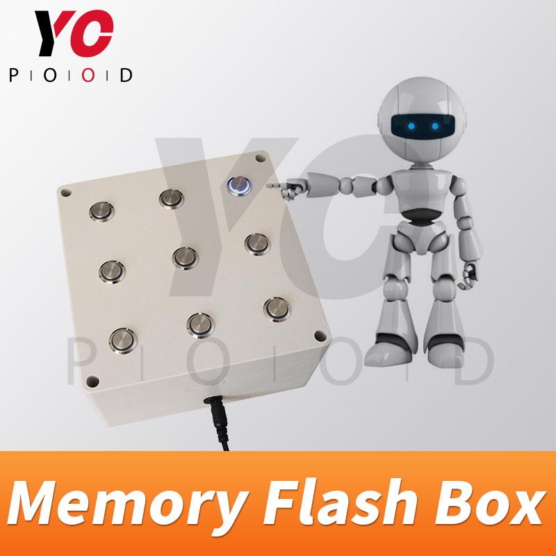YOPOOD Memory Flashing Box Escape room prop catch right flashing order to open the door chamber game|Access Control Kits| |  - title=