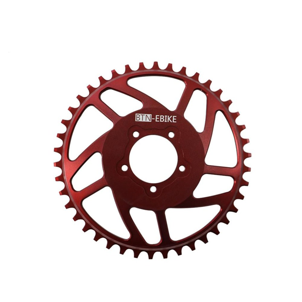 OEM New Bling Ring HD 42T Single Narrow Wide Chainring For Banfang BBSHD Mid Drive Motor Kit