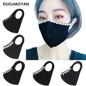 DUOJIAOYAN, Европейская и американская мода, стразы, защита для лица, солнцезащитный крем для лица, популярный сексуальный стеклянный кристалл, в...