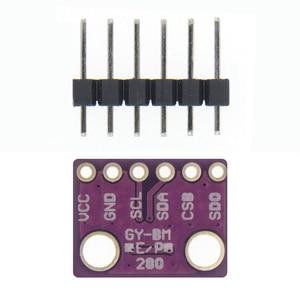 Image 2 - 100PCS GY BME280 3.3 정밀 고도계 대기압 BME280 센서 모듈