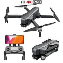 2020 nowy SJRC F11 4K PRO Dron GPS Drone profesjonalny z 5G Wifi FPV kamera HD 64G TF karta dwuosiowy bezszczotkowy Quadcopter tanie tanio Z tworzywa sztucznego CN (pochodzenie) Ready-to-go About 26 mins HELICOPTER 3 7V 300mAh Pilot zdalnego sterowania 17*10 5*7CM(folded)