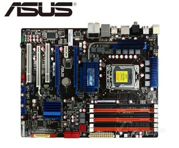 ASUS P6T SE original motherboard X58  DDR3 LGA 1366 USB2.0 SATA II 24GB X58 USED PC Desktop Motherboard original motherboard asus p5q em do bm52 ddr2 lga 775 16gb g45 desktop motherboard free shipping