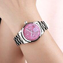 FNGEEN Brand Women Simple Automatic Self-wind Watch Elegant