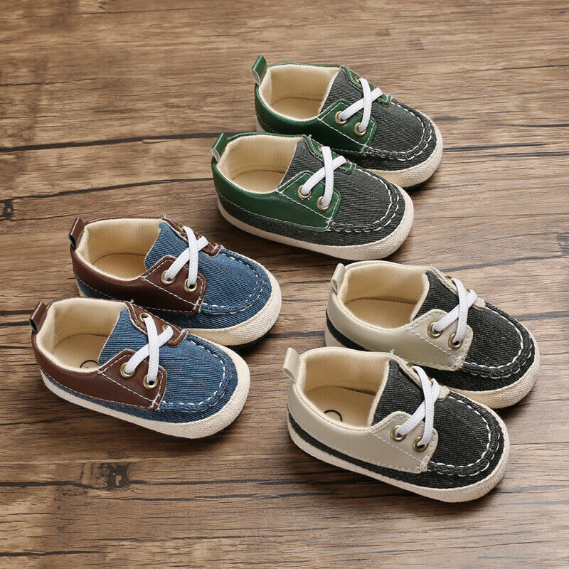 Newborn Toddler Baby Boy Girl Soft Sole Crib Shoes Casual Sneakers Sport Shoes Cross Strap Comfortable Baby Shoes 710