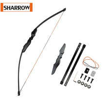 1Pc 40lbs Archery Straight Takedown Recurve Bow Arrows Right Hand Outdoor Training For Hunting Shooting Practice Accessories 5pack lot eye cream serum jeunesse beauty anti wrinkle anti aging eye cream eliminate eye bag removal