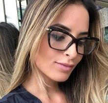 Cat Eye Glasses Frame Women 2019 Brand Retro Optical Glasses Frame Sculpture Eyeglasses Frame Clear Lens fake glasses Oculos цена