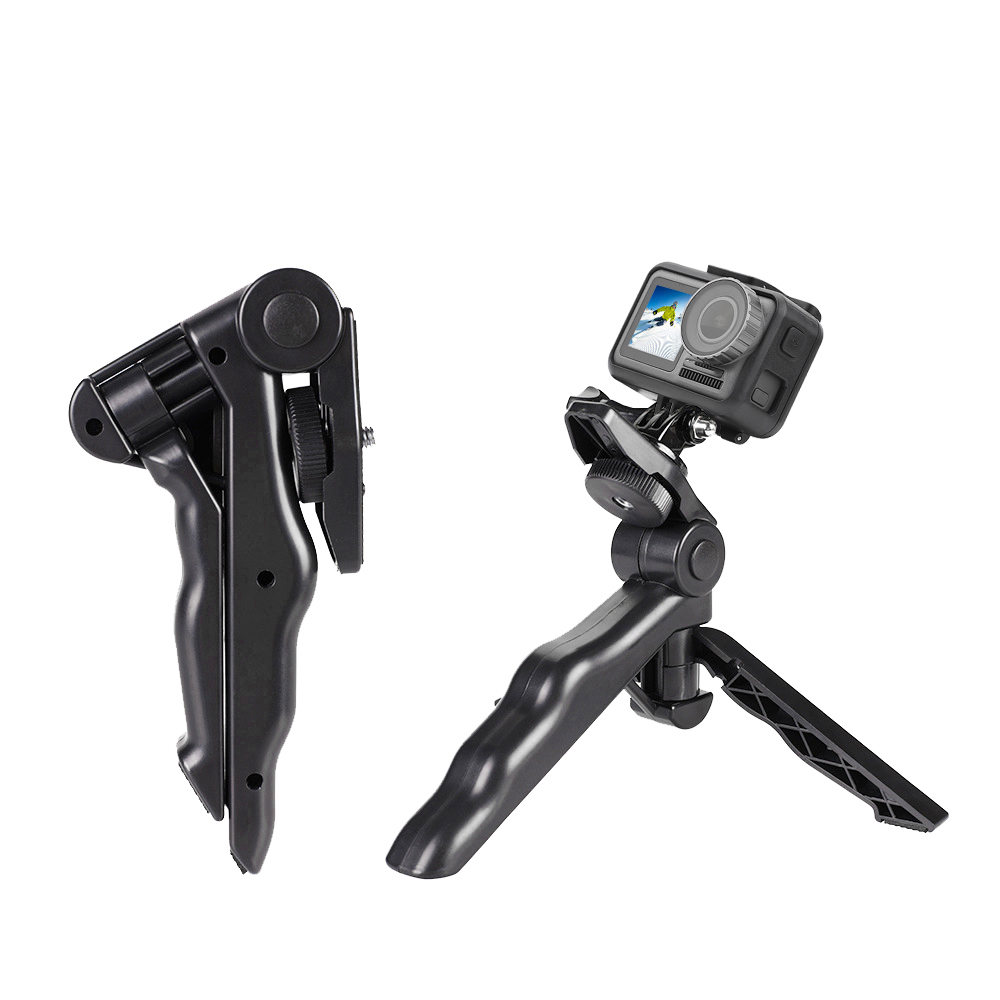 Good Handheld Desktop Small Tripod Portable Flexible Camera Shooting Mini Fixed Bracket for DJI OSMO Action Sports Camera
