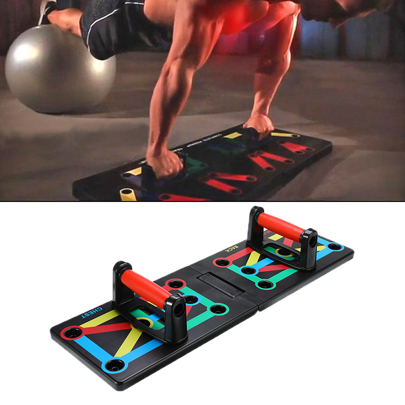 1 Set Push Up Rack Board Body Building Fitness Exercise Tool Men Women Push-up Stands For GYM Body Training Fitness Tools