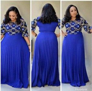 Image 1 - 2019 אפריקאי שמלת חלוק Africaine אפריקאי שמלות בגדים מסורתי נשים אפריקאי שמלה עבור גברת