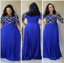2019 africano vestido robe africaine africano vestidos vestuário tradicional feminino africano vestido para a senhora