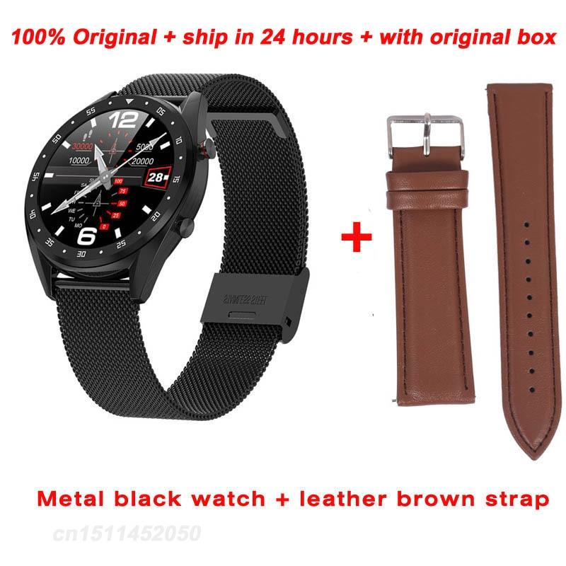 Greentiger L7 Bluetooth Smart Watch Men ECG+PPG HRV Heart Rate Blood Pressure Monitor IP68 Waterproof Smart Bracelet Android IOS