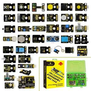 Image 3 - Новинка 2020! Keyestudio новый сенсорный стартовый комплект V2.0 37 в 1 коробка для Arduino UNO стартовый комплект