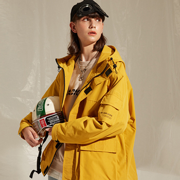 Raibaallu جديد 2019 الأدوات سترة معطف مقنع للرجال امرأة الشتاء جاكيت زيبرا الرجال سترة معطف المعتاد