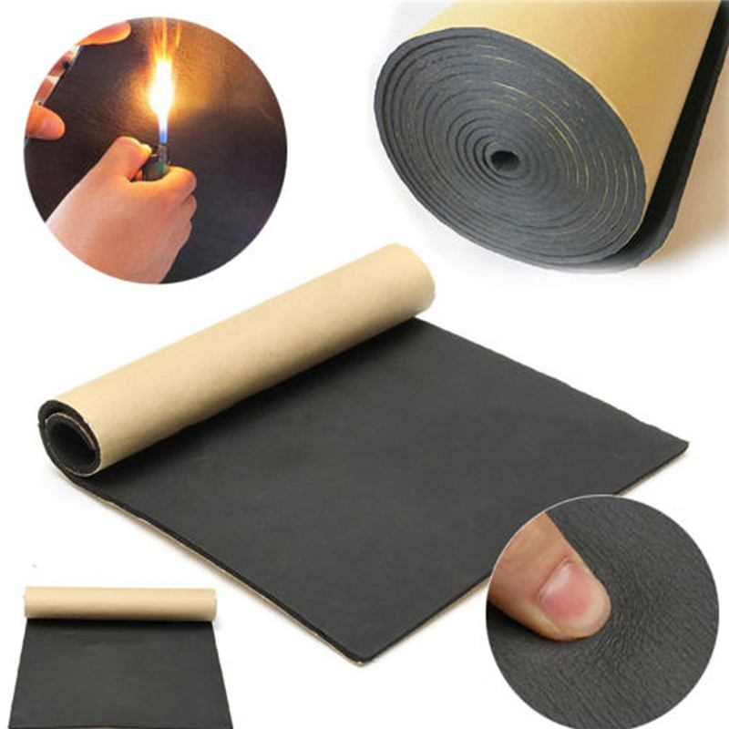 1Roll 200cmx50cm 5mm-30mm Car Sound Proofing Deadening Car Truck Anti-noise Sound Insulation Cotton Heat Closed Cell Foam