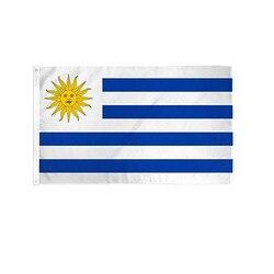 Johnin 90x150cm flaga URY UY urugwaj Flagi  banery i akcesoria    -