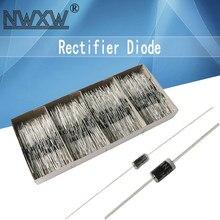 50pcs Rectifier Diode UF4007 1N5401/4/8 1N5819 1N5399 1N4937 1N4001/2/4/7 HER107 FR207 FR157 FR107 RL207 1N5817 DO-41