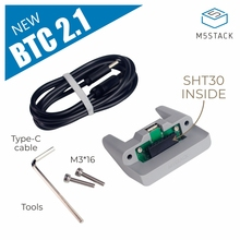 Humidity-Temperature-Sensor ESP32 M5stack Micropython New for with Standing-Base SHT30