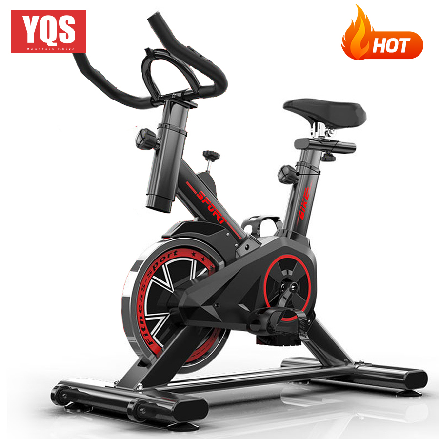 YQS Super Mute Cycling Equipment Indoor Gym Dynamic Bicycle Household Exercise Bicycle Exercise Cycle SpinningTraining Equipment