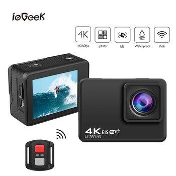 EIS Anti-shake Action Camera 4K/60FPS Sports camera WIFI 2.0