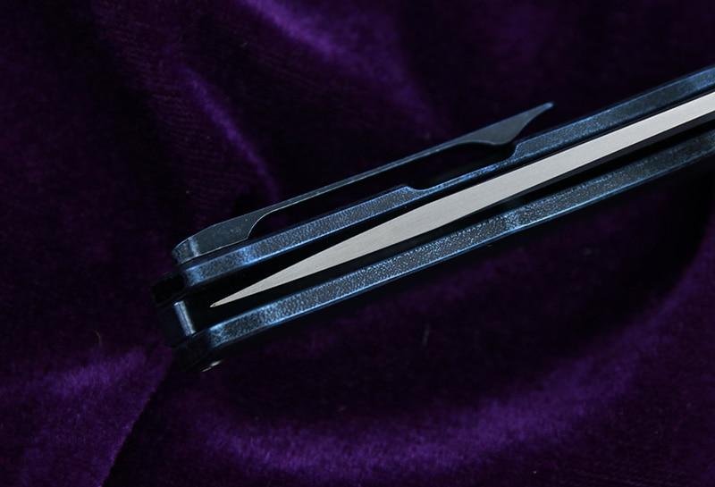 Diseño original CH3504 Cuchillo plegable Flipper S35VN Rodamientos - Herramientas manuales - foto 5