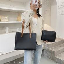 Women Tote Bags Luxury Pu Leather High capacity Women's Hand