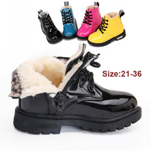 Kids Boots Boys Girls Plus velvet Casual Sneakers Running Sports shoes