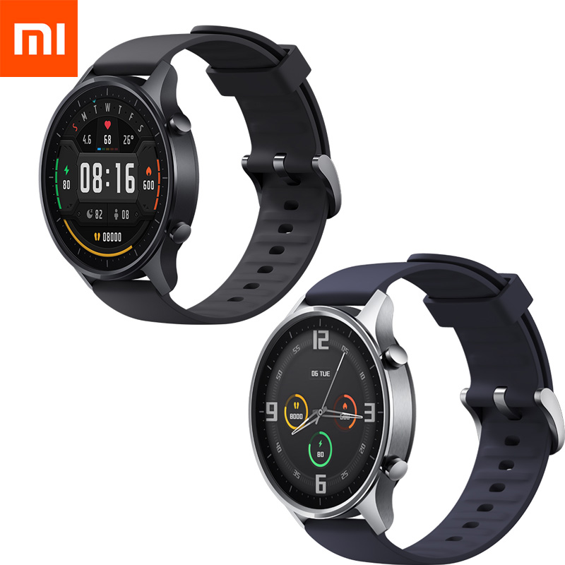 Fashion Xiaomi Smart Watch Color NFC 1.39'' AMOLED GPS Fitness Tracker 5ATM Waterproof Sport Heart Rate Monitor Mi Watch Color