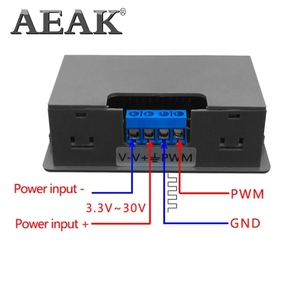 Image 5 - AEAK Signal Generator Module Adjustable PWM Pulse Frequency Duty Cycle Square Wave 1HZ   150KHZ Adjustable