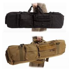 Nylon Tactical Rifle Gun Bag Gun Carry Case About 100cm With Shoulder Strap Outdoor Hunting Bag Protection Case Square Backpack tactical shotgun rifle long carry bag hunting bag gun bag scabbard gun protection case backpack shoulder sling case holster
