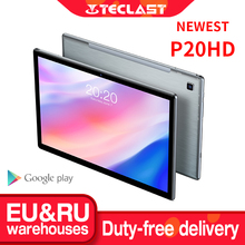 Newest Teclast P20HD Tablet Android 10 Tablets PC 4G LTE 10.1 inch 4GB RAM 64GB ROM 1920×1200 SC9863A Octa Core Tabletas GPS