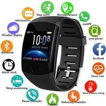 LIGE 2020, nuevo reloj inteligente para hombres y mujeres, Monitor de presión arterial, Monitor de ritmo cardíaco, reloj deportivo, reloj inteligente
