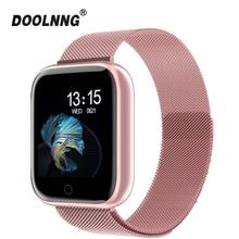 2019 New Women Waterproof Smart Watch T80 Bluetooth Smartwatch For Apple IPhone