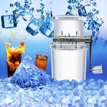 Gospodarstwa domowego Mini łatwa kruszarka do lodu kruszarka ręczna ręczna maszyna do kruszenia śniegu maszyna do lodu smażona maszyna do lodu tanie i dobre opinie WANGSHUIYAN 3 kg min Półautomatyczne Tworzywo abs 1 1l ice blender Slushies Instrukcja