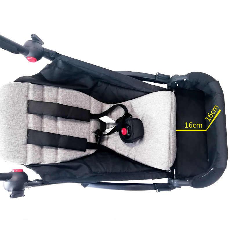 Wózek obróć ramię i kieszeń stóp rozszerzenie dla Babyzen Yoyo yoya BabyThrone wózek podnóżek akcesoria dla wózków dziecięcych
