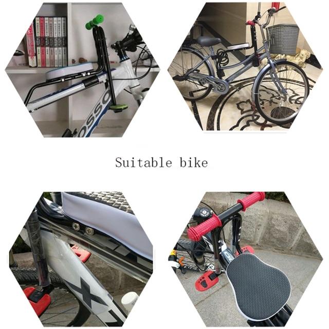 Asiento de bicicleta para niño con montaje en la parte delantera, asiento de bicicleta de montaña, asiento de silla de seguridad, asiento de bicicleta para niños, accesorios de soporte