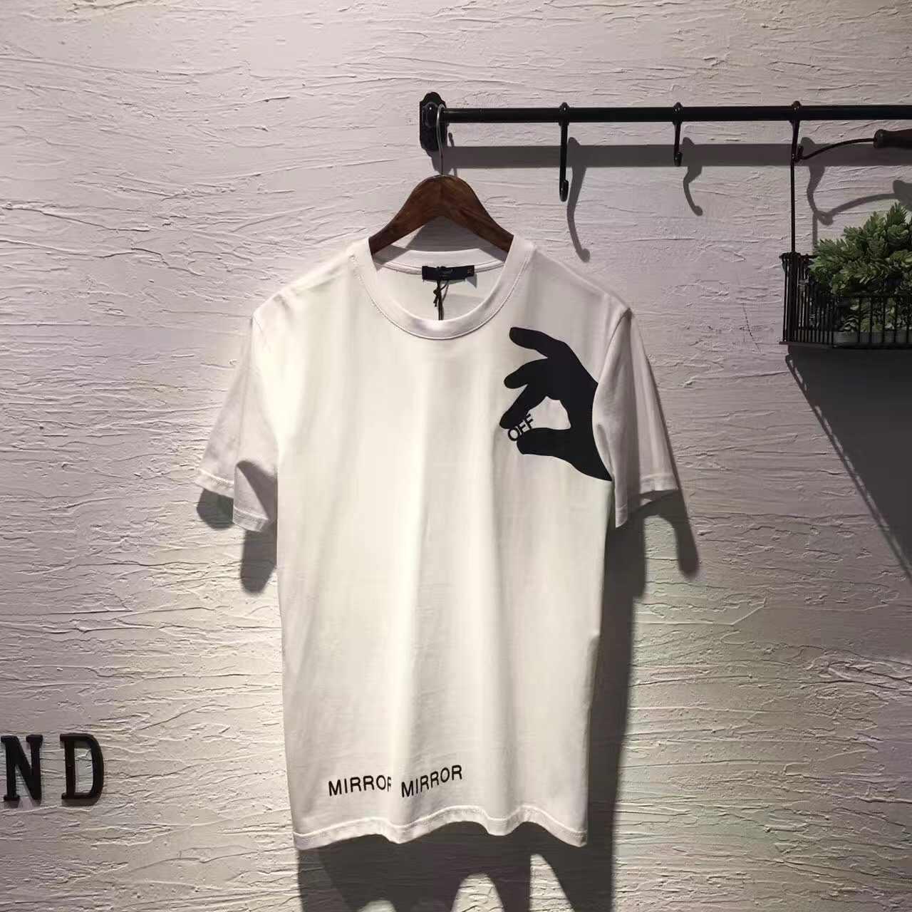 2020 חדש הגעה אופנה בגדים קצר O-צוואר כבוי מקרית T חולצה גברים היפ הופ חולצת טי הדפסת כותנה חולצה קיץ חולצות tees