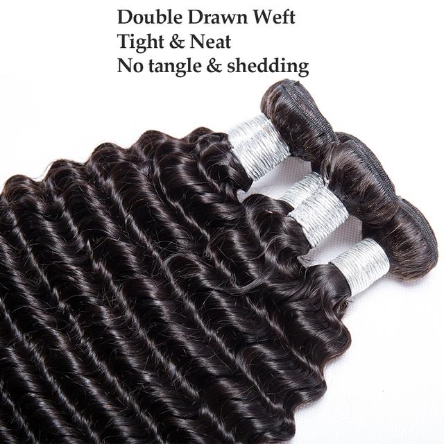 Malaysian Curly Hair 3 Bundles 100% Human Hair