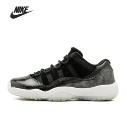 Nike Air Jordan 11 Retro Low Barons 528895-010 Basketball Men Shoes Unisex Women Outdoor Sports Sneakers